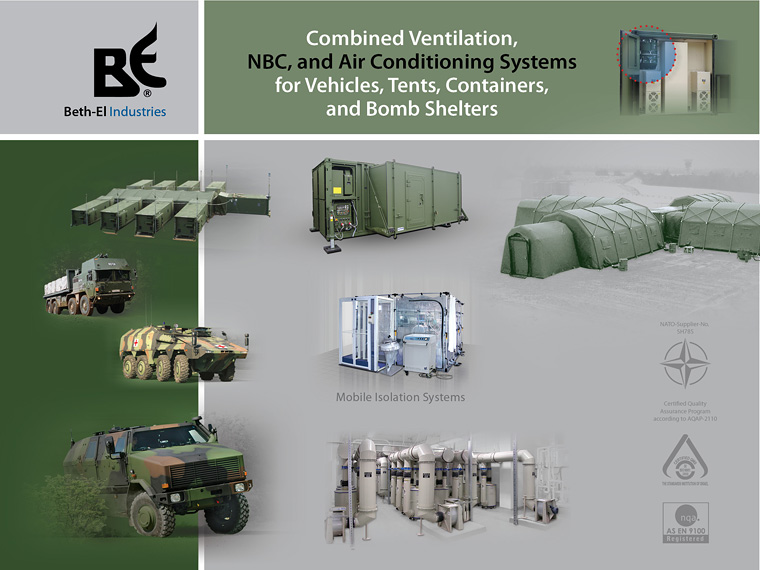 Leading worldwide manufacturer of CBRN protection and filtration systems Beth-El