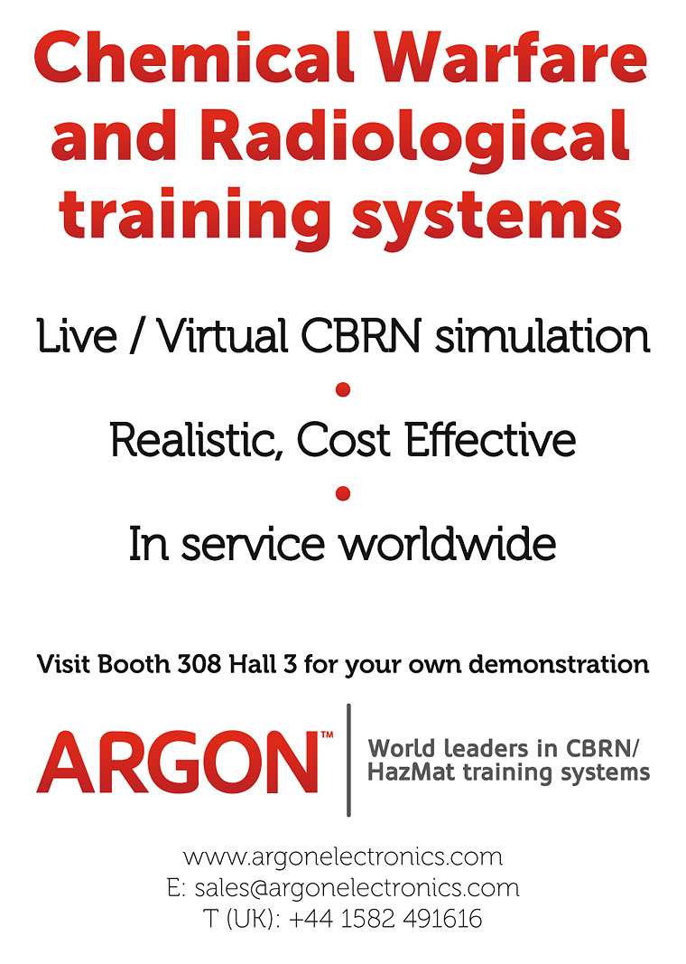 CBRN  training systems ARGON at FF14